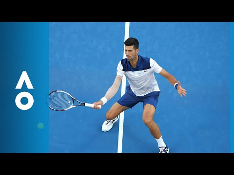 Novak Djokovic and Hyeon Chung hyeon chung