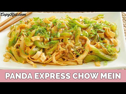 Panda Express Chow Mein Copy Cat Recipe