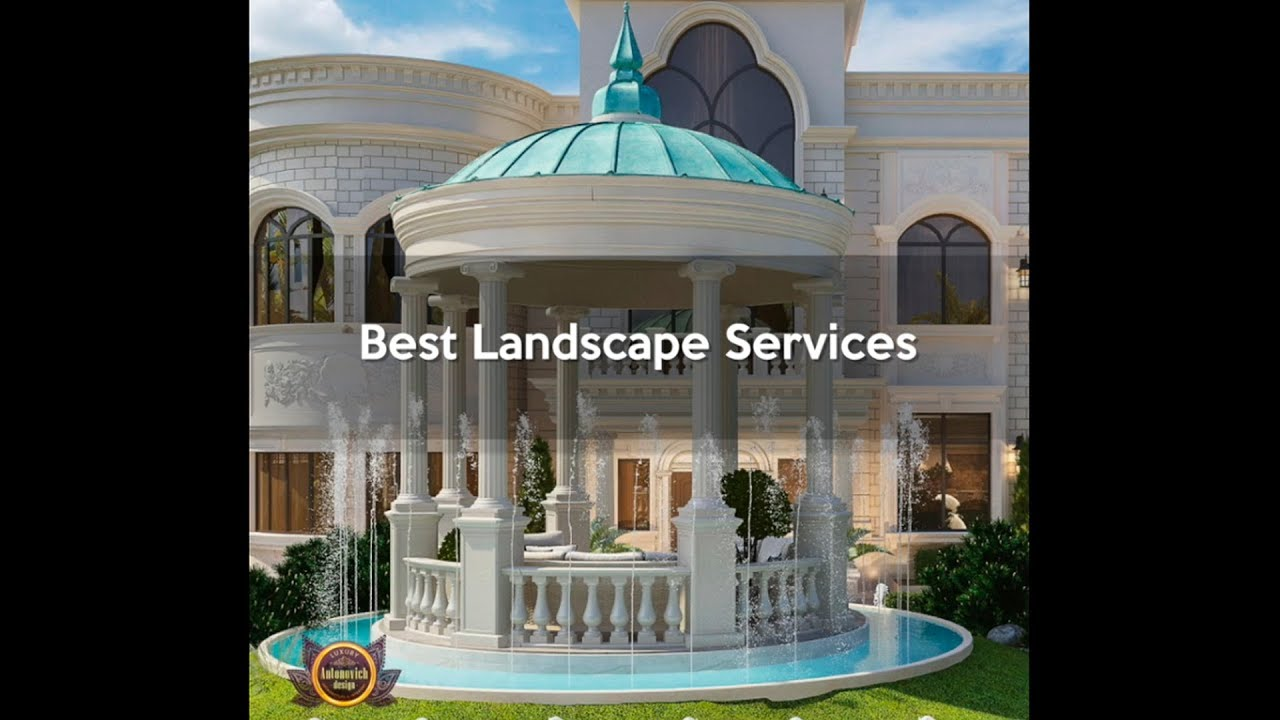 Best Landscape Services in UAE and USA!