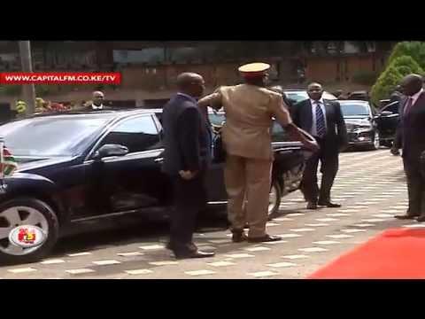 Uhuru nearly cancels Belgium trip over aide