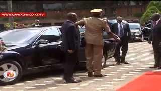 Uhuru nearly cancels Belgium trip over aide's visa hitch