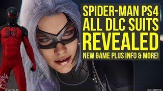 Spider Man PS4 DLC Suits REVEALED & Secret New Game Plus Info & More! (Spiderman PS4 DLC Suits)