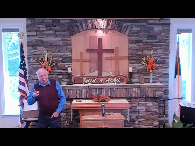 Sunday Service - Nov 10, 2019 - Titus 1: 5-9 God's Expectations for you