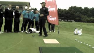 The World's Best Golf Trick Shot Double Act - Ian Poulter & Geoff Swain