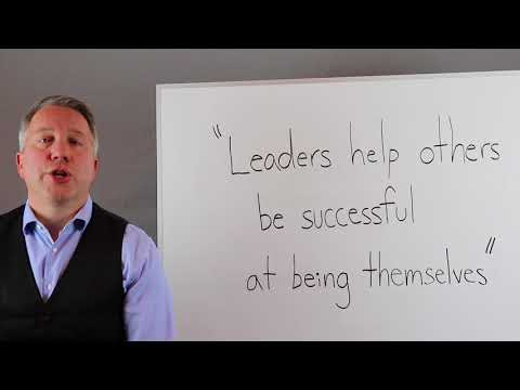 "fulfillmints ""leaders help others be successful at being themselves"""