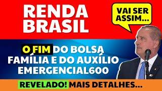 RENDA BRASIL: O FIM DO AUXÍLIO EMERGENCIAL E DO BOLSA FAMÍLIA MAIS DETALHES REVELADOS!