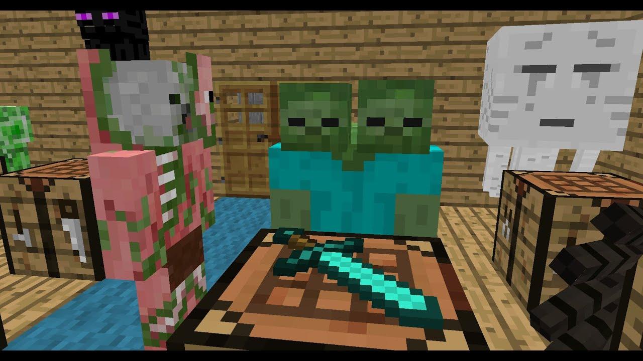 Monster School: Drawing - Minecraft Animation - ViYoutube