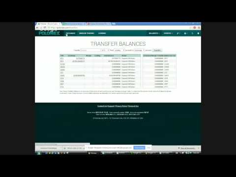 Poloniex Historical - Altcoin Trading Hangout - Oct 31/15