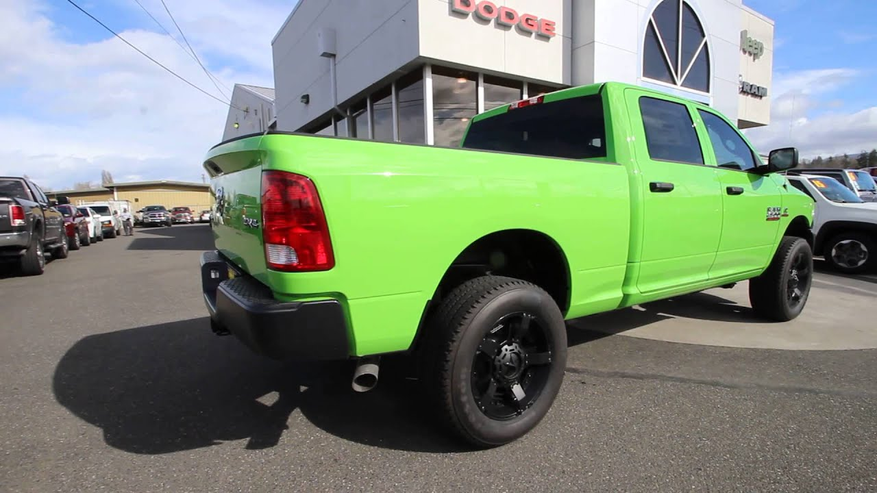 2016 Dodge Ram 2500 Tradesman Hills Green GG273991