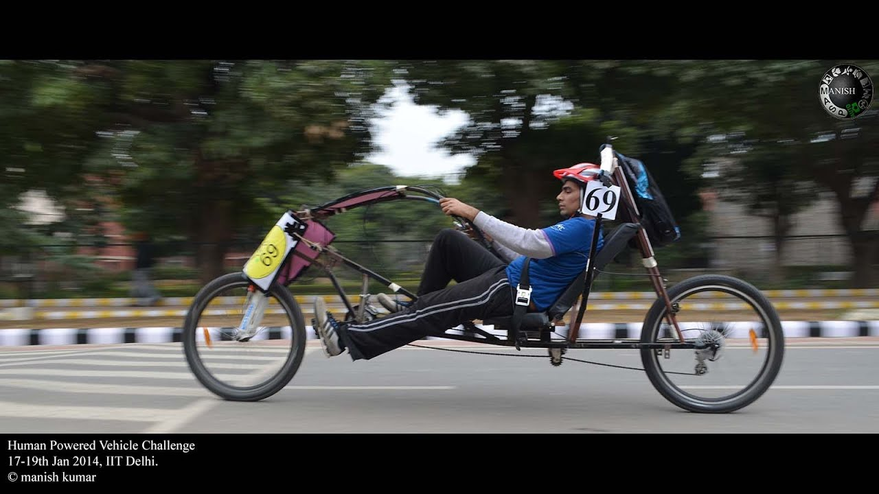 Human Powered Car Can Go 30 MPH While Driving Uphill