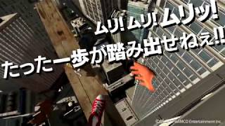 VR ZONE Portal - 【可視動画】極限度胸試し 高所恐怖SHOW