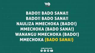 Lava Lava Ft Diamond Platnumz - Bado Sana (Official Lyrics)