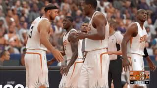NBA 2K17 RANDOMISED TEAMS ONLINE!! New York Knicks vs Phoenix Suns