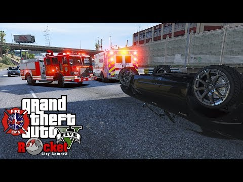 LIVE! EMS/Fire Rescue | GTA 5 LSPDFR (With Rick Chocolate & Phil McGroine)