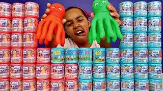 50 MASHEMS & FASHEMS OPENING! Peppa Pig,Paw Patrol,Disney Emoji,Disney Princess Surprise Toys
