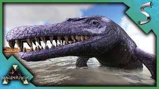 BASILOSAURUS TAMING? MAYBE SOME TROLLING TOO! - Ark: Survival Evolved [Cluster PVP]