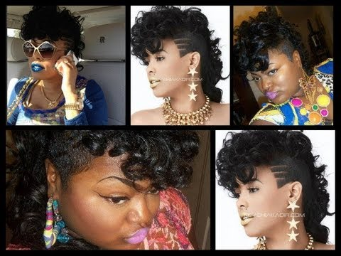 How To Keyshia Ka Oir Mohawk Update Youtube