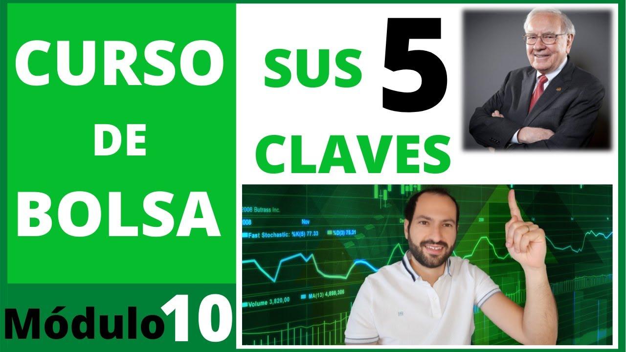 🔟 5 CLAVES para INVERTIR en BOLSA según WARREN BUFFET 🟢 Curso de bolsa #10