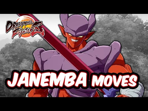 Dragon Ball FighterZ - Janemba Moves/ Combos [DLC6]
