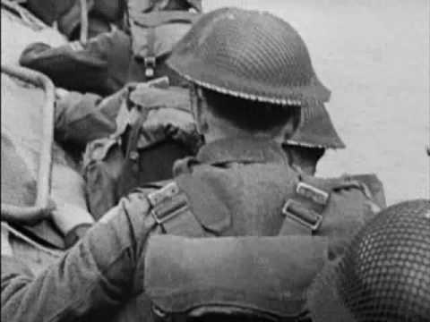 Dieppe Raid - Assault footage