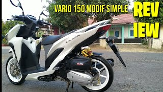 REVIEW VARIO 150 MODIF SIMPLE AJA #DR16 #VARIOVLOG