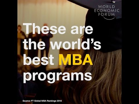 These are the world´s best MBA programs