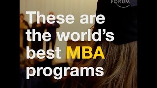 Top 10 MBA - These are the world´s best MBA programs