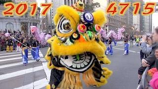 Chinese New Year Parade 2017 San Francisco highlights compilation