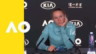 Caroline Wozniacki press conference (2R) | Australian Open 2019
