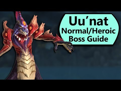 Uu'nat Guide - Normal and Heroic Uu'nat Crucible of Storms Boss Guide