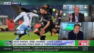 After Foot du jeudi 02/11 – Partie 3/3 - Débrief de Lazio/Nice (1-0)