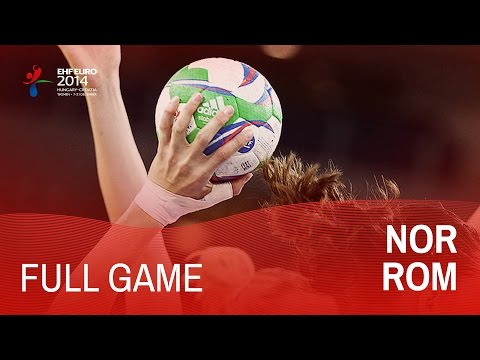 Group B: Norway vs Romania 27:19 | Women's EHF EURO 2014