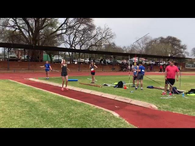 #VSA2020 | Michaela Conradie | Girls | u15 | Javelin | 35.05m