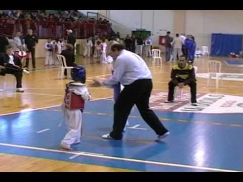 Taekwondo Competition NES-ZIONA 2009, Eitan Bekker...