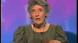 "Phyllida Law loses it on ""Call My Bluff""!"
