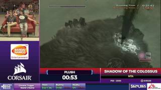 Shadow of the Colossus by NTA in 46:39 - SGDQ2017 - Part 91