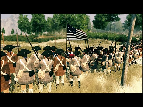 BATTLE OF COWPENS - Regiments of American Revolution Mod Gameplay