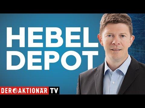 Hebel-Depot: Evotec, Nemetschek und GAFAM Index führen das Depot an