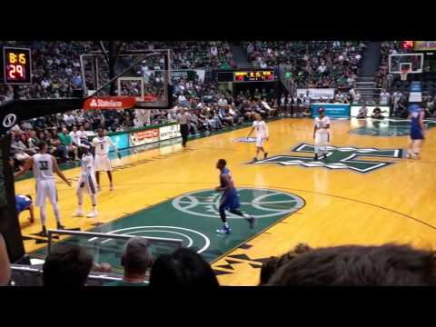 Mens Basketball - Hawaii vs Santa Barbara - 1st Half  1-9-16