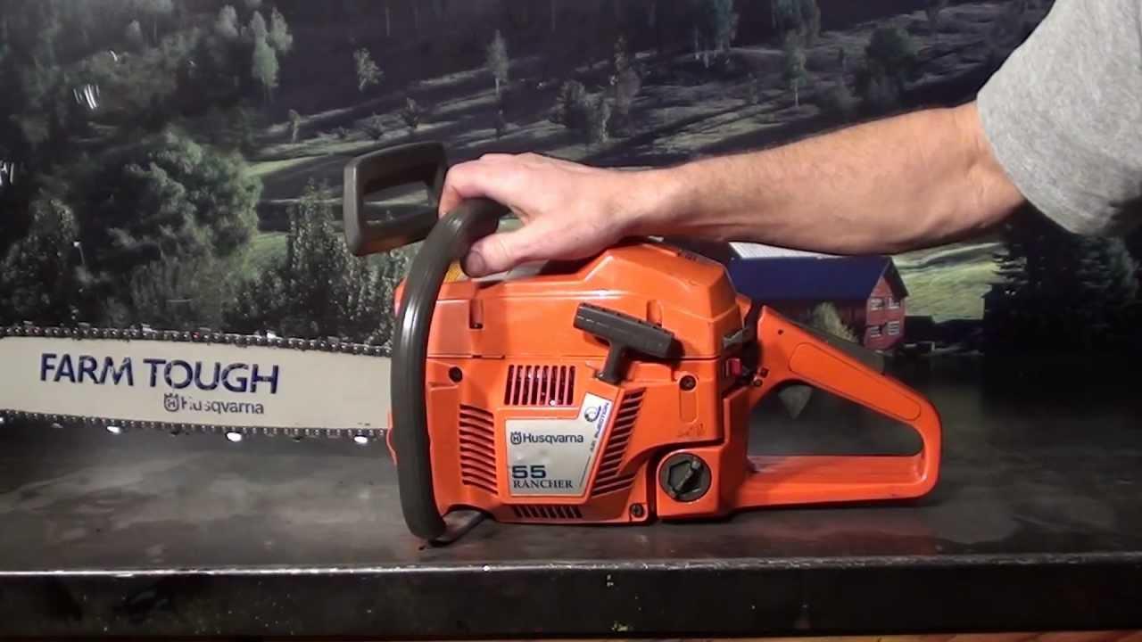 the chainsaw guy shop talk husqvarna 55 rancher 11 07. Black Bedroom Furniture Sets. Home Design Ideas