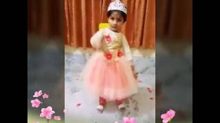 Superb dance of Cutie pie on Prem Ratan Dhan Payo...