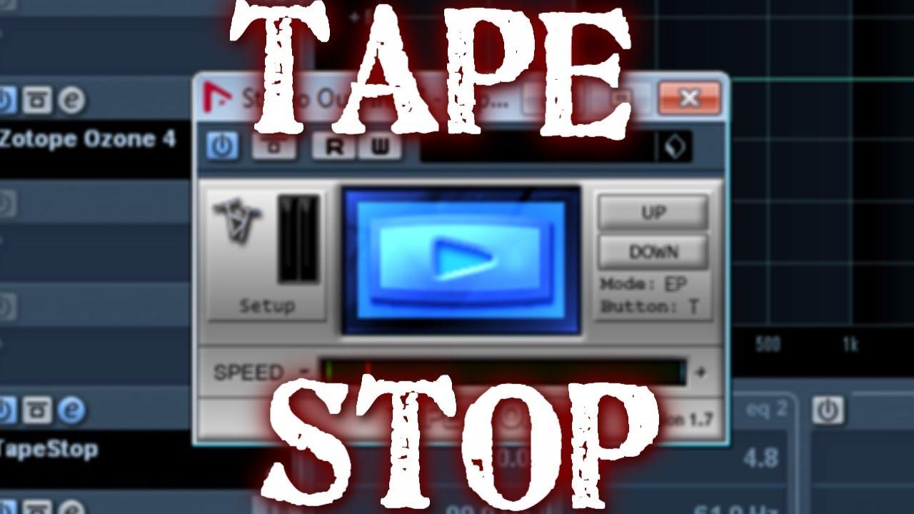 StudioLinkedVST presents: TapeStop FX Plugin | AudioSEX ... |Tapestop Vst