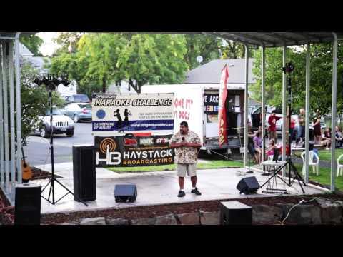 Nic Oregon Karaoke Challenge 2013 The Dalles OR.
