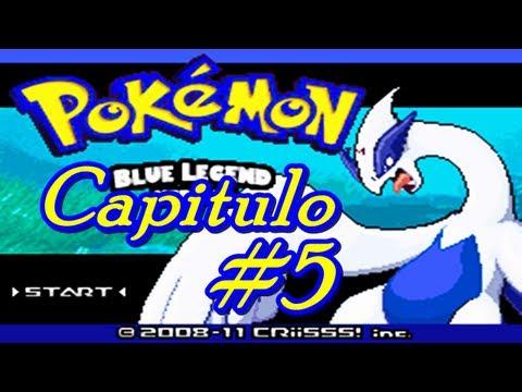HackRom Pokemon Blue legend Capitulo 8 Final!