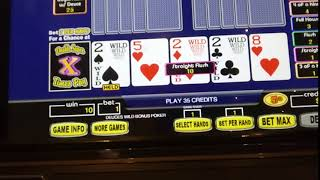 Video Poker, NYNY casino, Las Vegas