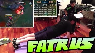 DYRUS DOING PUSHUPS | THAT'S WHY YOU DON'T CHASE SINGED | DOO D - That's the Dyrus I love to watch 2