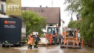 Germany floods: Bavaria's Weilheim district in state of emergency