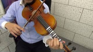 A Tune A Day for viola Book II Lesson XX It Came Upon Midnight Clear
