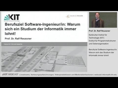 Berufsziel Software-Ingenieur/in: Warum sich das Studium der  Informatik immer lohnt!