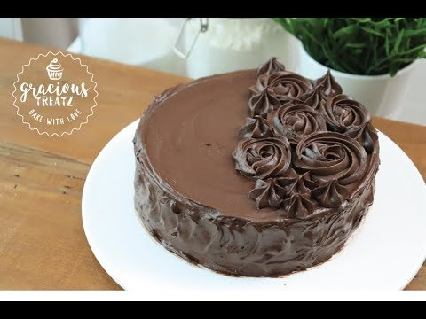 Super Moist Chocolate Cake | Chocolate Ganache